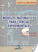 Modelos matemáticos para ciencias experimentales