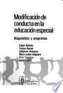 Modificación de conducta en la educación especial