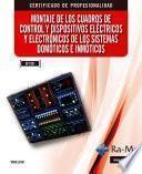 Montaje de cuadros de control y dispositivos eléctricos y electrónicos de sistemas domótico