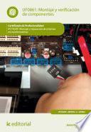 Montaje y verificación de componentes. IFCT0309