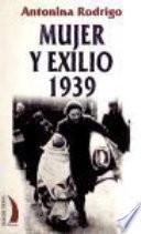 Mujer y exilio, 1939