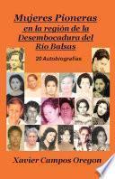 Mujeres pioneras en la región de la desembocadura del Río Balsas