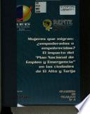 Mujeres que migran