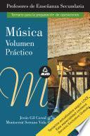 Musica. Volumen Practico. Profesores de Educacion Secundaria. Temario Para la Preparacion de Oposiciones.ebook