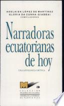 Narradoras ecuatorianas de hoy