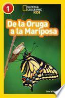 National Geographic Readers: De la Oruga a la Mariposa (Caterpillar to Butterfly)