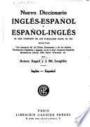 Neuvo diccionario inglés-español y español-ingles