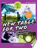 New Table for two. Inglés para cocina y restauración 2.a edición