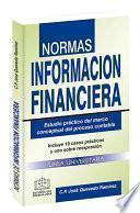 NORMAS DE INFORMACIÓN FINANCIERA 2020