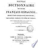 Nouveau dictionnaire de poche français-espagnol
