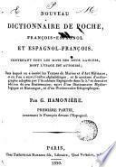 Nouveau dictionnaire de poche françois-espagnol et espagnol-françois
