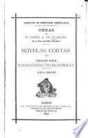 Novelas cortas: Narraciones inverosímiles