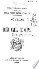 Novelas de Doña María de Zayas