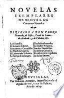 NOVELAS EXEMPLARES DE MIGVEL DE Ceruantes Saauedra