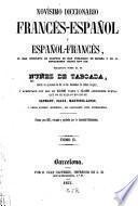 Novisimo diccionario francés-español y español-francés