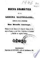 Nueva gramatica de la lengua castellana