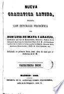 Nueva gramática latina