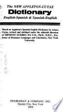 Nuevo Diccionario Appleton-Cuyas, Inglés-español Y Español-inglés