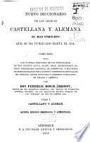 Nuevo diccionario de las lenguas castellana y alemana