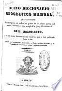 Nuevo diccionario geográfico manual: A-HIS