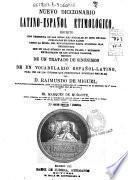Nuevo diccionario latino-español etimológico...