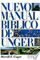 Nuevo Manual Biblico De Unger