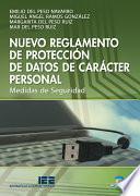 Nuevo reglamento de protección de datos de carácter personal