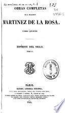 Obras completas de d. Francisco Martinez de la Rosa