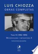 Obras completas de Luis Chiozza. Tomo VI