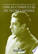 Obras completas de Pedro Sienna