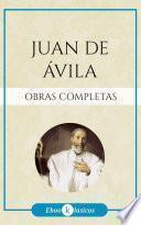 Obras Completas de San Juan de Ávila