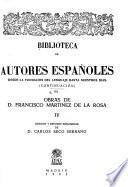 Obras de D. Francisco Martinez de la Rosa