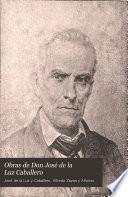 Obras de Don José de la Luz Caballero