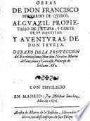 Obras de Don Quirós y Aventuras de Don Fruela