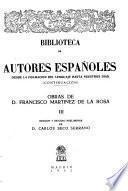 Obras de Francisco Martínez de la Rosa