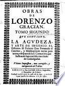 Obras de Lorenzo Gracian