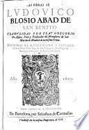 Obras de --- traducidas por Gregorio de Alfaro
