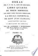 Obras del V. P. M. Fr. Luis de Granada