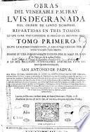 Obras del venerable P. M. Fray Luis de Granada ...