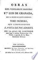 Obras. [Followed by] Vida, por L. Muñoz