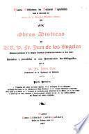 Obras místicas del M. R. P. Fr