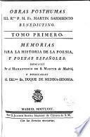 Obras posthumas del Rmo. P.M. Fr. Martín Sarmiento benedictino