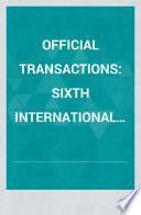 Official Transactions