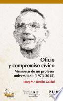 Oficio y compromiso cívico