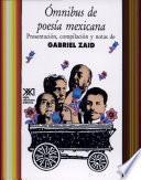 Ómnibus de poesía mexicana