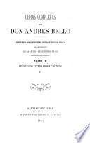 Opúsculos literarios i criticos ...
