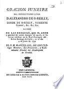 Oracion funebre del ... Señor D. Alexandro de O'Reilly ...