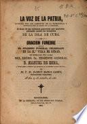 Oración funebre que en el solemne funeral celebrado en la il. e villa de Sitges en sufragio del alma del Excmo. Sr. Teniente General D. Manuel de Enna