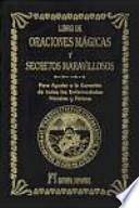 Oraciones mágicas y secretos maravollosos