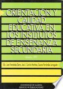 Orientación y calidad educativa en los Institutos de Enseñanza Secundaria